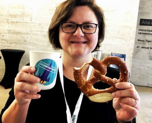 Michaela Hrabec von der cowork AG