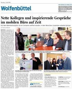 CoWorkLand-Eröffnung in Wolfenbüttel mit cowork AG-Vorstand Tobias Kollewe
