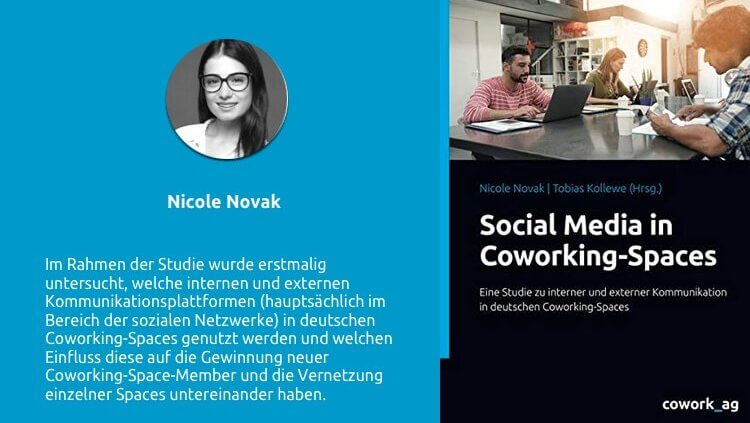 Publikation Novak Studie Coworking